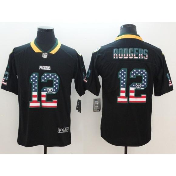 buy popular e34c6 de588 Green Bay Packers Aaron Rodgers Jersey